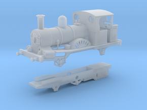 London & Blackwall Railway 2-2-2WT (Modernised) in Smooth Fine Detail Plastic