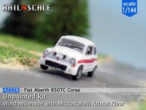 Fiat Abarth 850 TC Corsa (1/144) in Smooth Fine Detail Plastic
