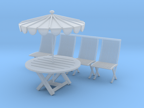 Printle Thing Picnic Set - 1/48 in Smoothest Fine Detail Plastic