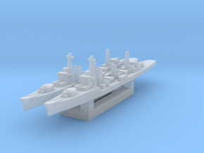 Kagero destroyer (Axis & Allies) in Smooth Fine Detail Plastic