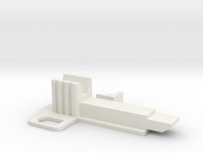 Commandfire hopper switch in White Natural Versatile Plastic