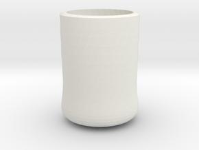 shot glass in White Natural Versatile Plastic