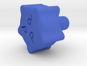 1/4-28 PROPELLER KNOB in Blue Processed Versatile Plastic