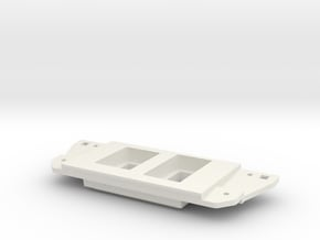 Tacoma mixed two switch panel in White Natural Versatile Plastic
