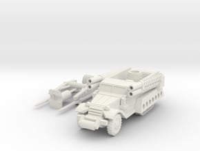 144 type M3A1  in White Natural Versatile Plastic