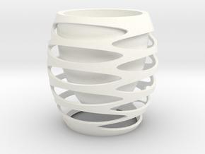 BOTTLECUP in White Processed Versatile Plastic