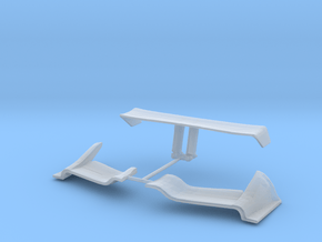 2019 Indycar 1:43 Oval wings set in Smooth Fine Detail Plastic