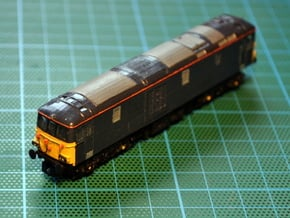 CS/GBRF Class 73/9 1/148 in Smooth Fine Detail Plastic