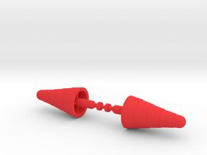 Baron Karza Large Missiles in Red Processed Versatile Plastic: Medium