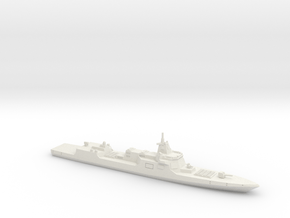 055 Destroyer (2017), 1/1200 in White Natural Versatile Plastic