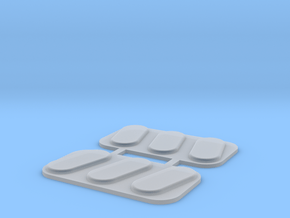 Truckbed light inserts in Smooth Fine Detail Plastic