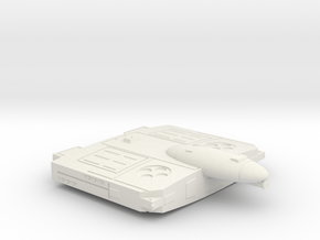 3788 Scale Flivver Heavy Cruiser (CA) MGL in White Natural Versatile Plastic