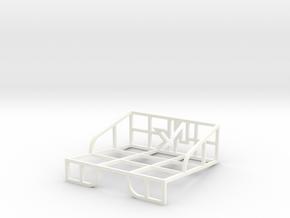 Standard Card Deck in White Processed Versatile Plastic