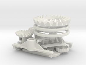 Differential model in White Natural Versatile Plastic