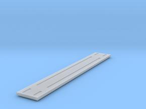 Heavyweight Flatcar - 68 foot - HOscale in Smooth Fine Detail Plastic