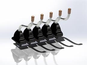 Nascar Gen 6 Shifter 5 Pack in Smoothest Fine Detail Plastic: 1:24