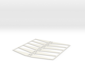 KITE FLYER - Sweeps (x12) in White Natural Versatile Plastic