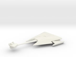 Klingon D10 in White Natural Versatile Plastic