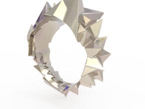 VR 2 in Rhodium Plated Brass: 7 / 54