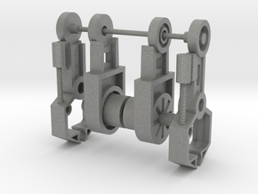 Microtron Elbow Arms in Gray PA12: Medium