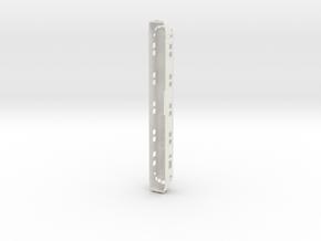 Motorpost scale 1:45 in White Natural Versatile Plastic