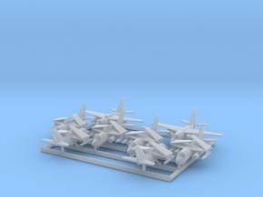 S-3A & ES-3A w/Gear x8 (FUD) in Smooth Fine Detail Plastic: 1:500