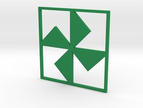 Turnstile in Green Processed Versatile Plastic