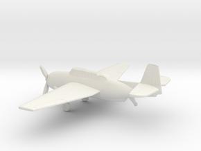 Grumman TBF Avenger / General Motors TBM in White Natural Versatile Plastic: 1:160 - N
