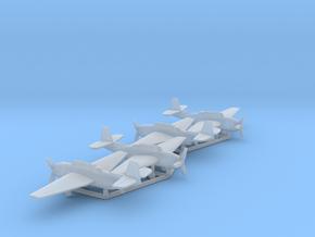 Grumman TBF Avenger / General Motors TBM in Smooth Fine Detail Plastic: 1:500