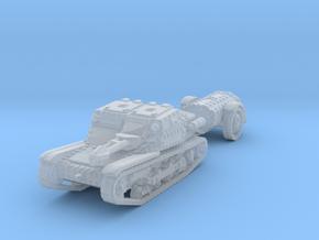 cv35 flamethrower 1/285 in Smooth Fine Detail Plastic