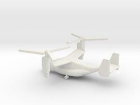 Bell Boeing V-22 Osprey in White Natural Versatile Plastic: 1:400