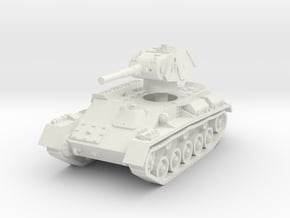 T-70 Light Tank 1/87 in White Natural Versatile Plastic
