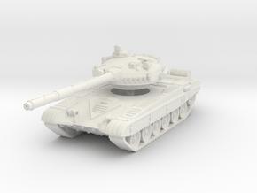 T-72 A 1/87 in White Natural Versatile Plastic