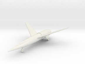 """(1:144) Karl Stöckel """"Atomflugzeug"""" (Gear down) in White Natural Versatile Plastic"""