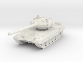 T-72 A 1/56 in White Natural Versatile Plastic