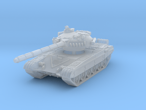 T-72 A 1/160 in Smooth Fine Detail Plastic
