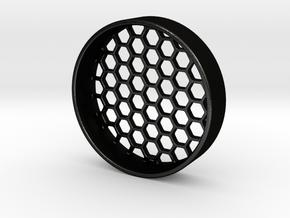 Scope's Lens Protector (OD 52,5mm) in Matte Black Steel