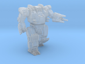 Assault Mech Fury in Smooth Fine Detail Plastic