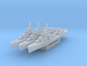 Sims class destroyer (Axis & Allies) in Smooth Fine Detail Plastic