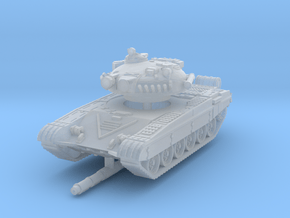 T-72 A 1/220 in Smooth Fine Detail Plastic