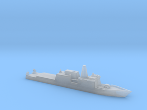 1/1800 Scale Huntington Ingalls FFGX Proposal in Smooth Fine Detail Plastic