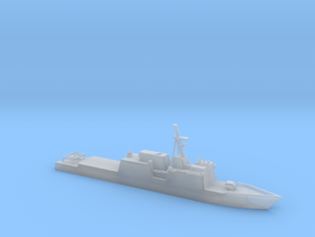 1/3000 Scale Huntington Ingalls NS Cutter in Smooth Fine Detail Plastic