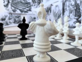 BISHOP - Alice's Adventures in Wonderland in White Processed Versatile Plastic