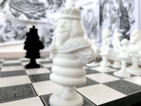 KING - Alice's Adventures in Wonderland in White Processed Versatile Plastic