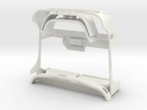 WWII Military Hard Body 1/10 like Unimog U404S in White Natural Versatile Plastic