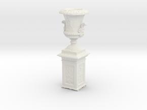 Printle Thing Outdoor Vase - 1/12 in White Natural Versatile Plastic