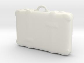 Printle Thing Suitcase 03 - 1/24 in White Natural Versatile Plastic