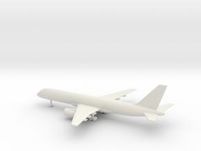 Boeing 757-200 in White Natural Versatile Plastic: 1:400