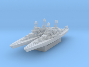 Colorado Battleship 1930s (Axis & Allies) in Smooth Fine Detail Plastic