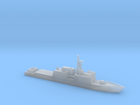 1/2400 Scale Huntington Ingalls NS Cutter in Smooth Fine Detail Plastic